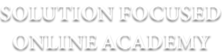 Solution Focused Online Academy Logo